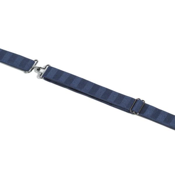 Petrol Blue Herringbone Adjuster